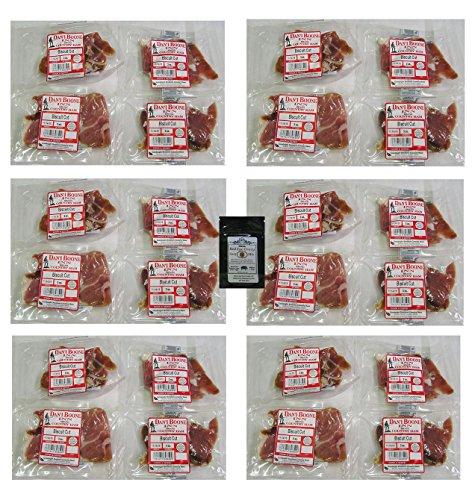 Dan'l Boone Country Ham 3oz Biscuit Cuts 24 Pack (4.5 -