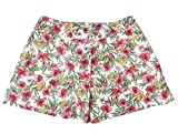 RALPH LAUREN Denim & Supply Women's Floral-Print Poplin Shorts (XS, Hibiscus Tropical)