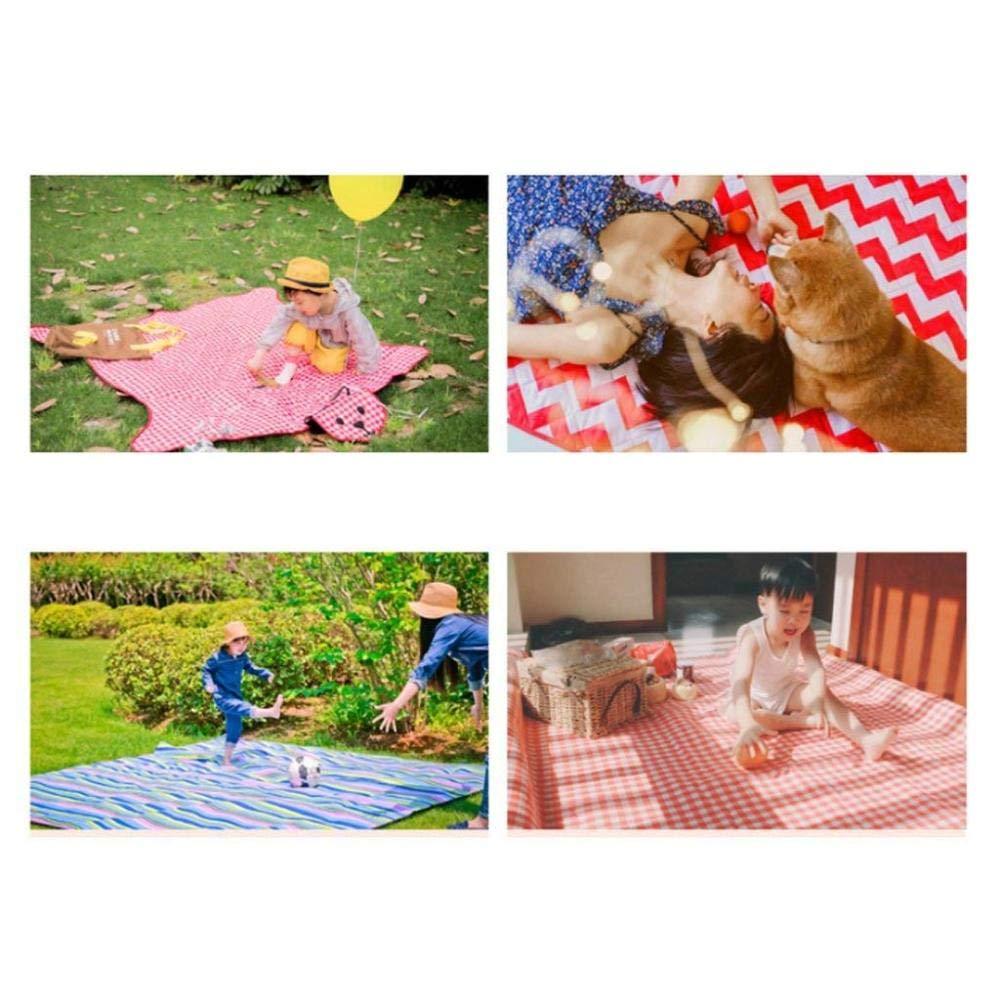HWDT001 Outdoor-Tischsets, Multi-Grid-Outdoor-Camping-Zelt-Matten, Picknick-Matten, Outdoor-Feuchtigkeitsdichten Picknick-Matten, Multi-Grid-Outdoor-Camping-Zelt-Matten, Outdoor-Tischsets, Strand Picknick-Matten 03e4ea