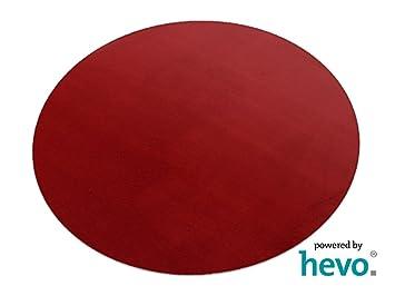Hevo Romeo Rot Teppich Kinderteppich Spielteppich 160 Cm O Rund
