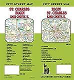 Elgin / St. Charles / Kane County, Illinois Street Map