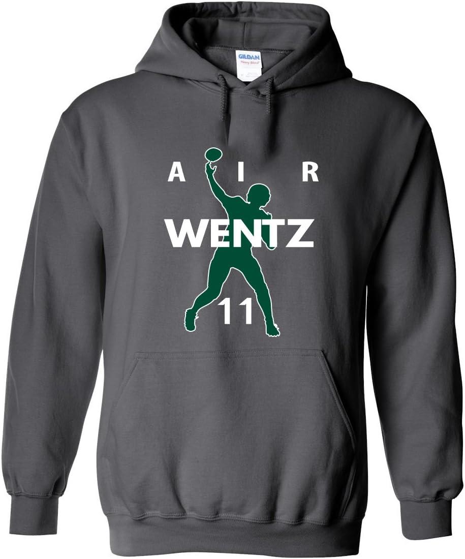 チャコールWentz Philadelphia Air」フード付きスウェットシャツ  Adult 3XL