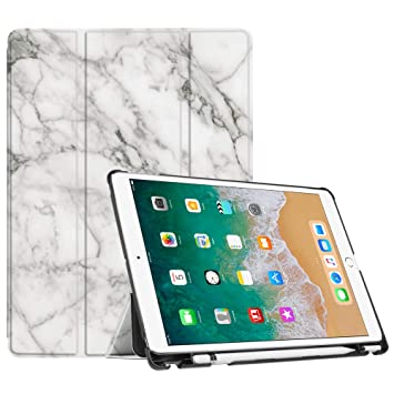 the latest db923 a2b99 FINTIE iPad Pro 10.5 Case with Apple Pencil Holder - [SlimShell] Ultra  Lightweight Standing Protective Cover with Auto Wake/Sleep Feature for  Apple ...