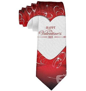 Anna-Shop Anillos Corazón de amor Flecha Cupido Corbata roja Día ...