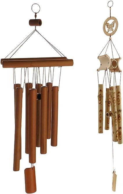 Carillon /à vent /à suspendre Motif dragon Fengshui
