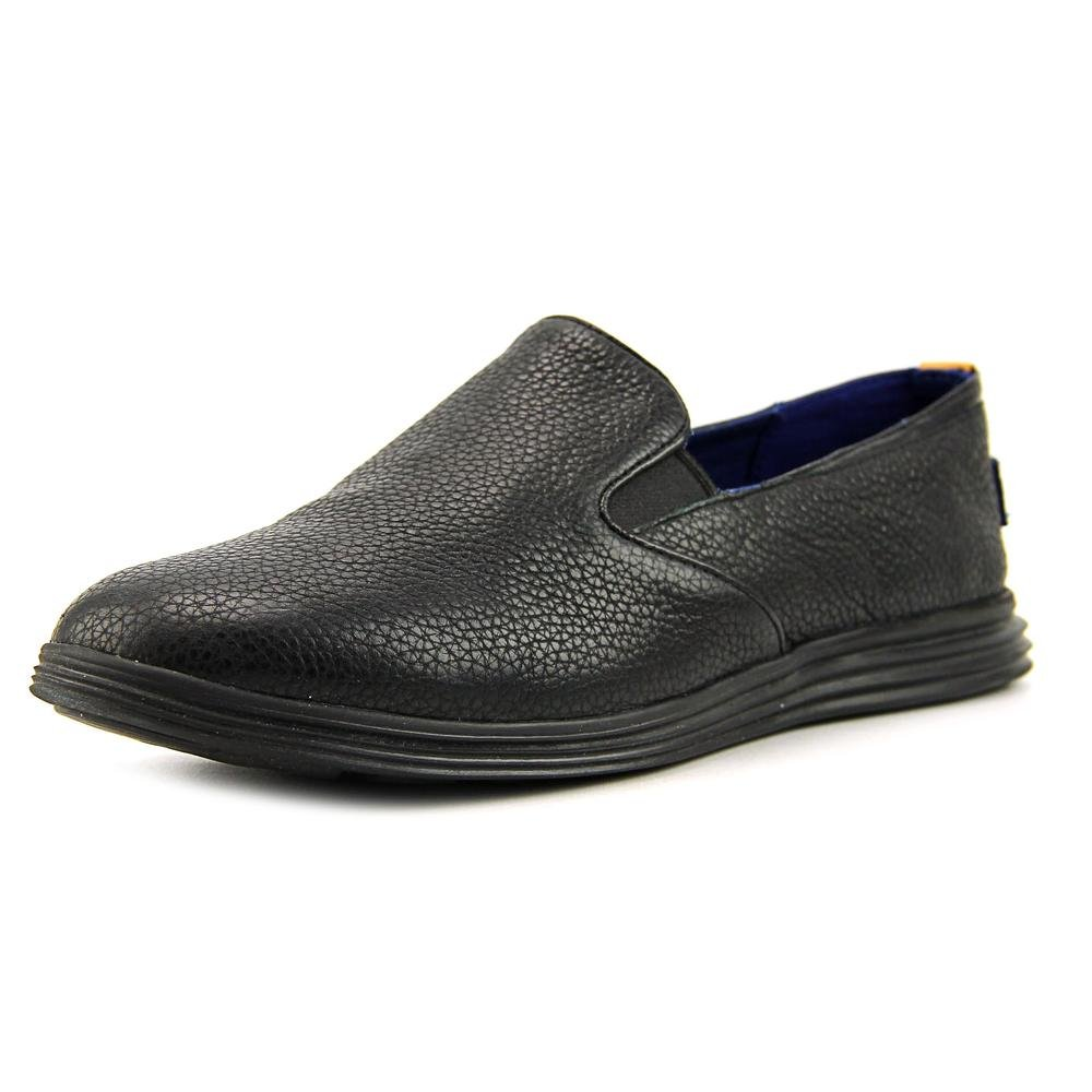 Cole Haan Women's Ella Grand 2 Gore Slip-On Black Leather/Black 9 B US by Cole Haan