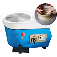 Pottery Forming Machine, PROMOTOR 9.8'' Table Top Pottery Wheel Ceramics Clay Tool for Ceramic Work Ceramics Clay 110V