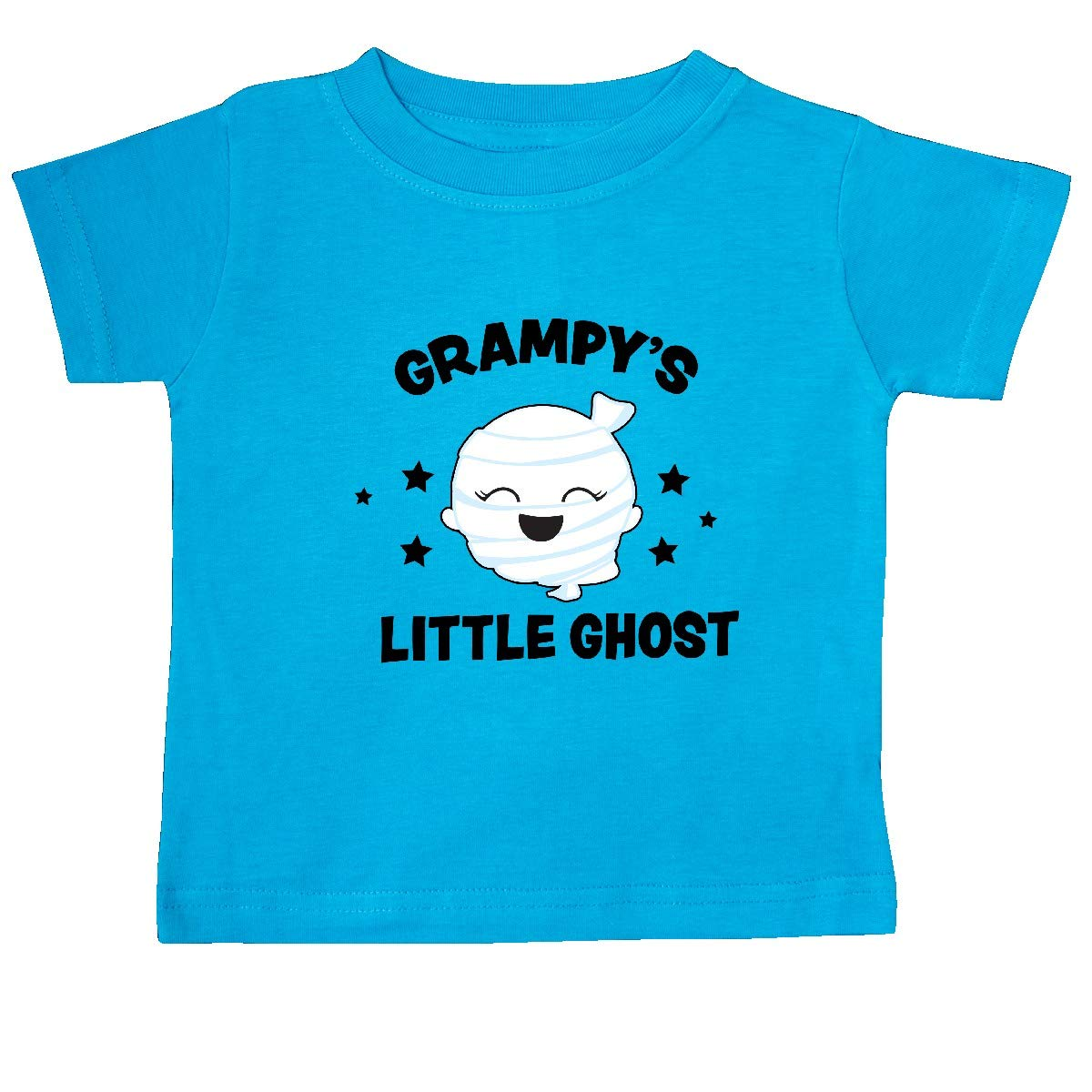 inktastic Cute Grampys Little Ghost with Stars Baby T-Shirt