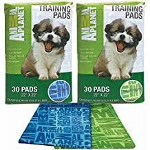 Animal Planet Pet Training Pads 30/Pkg-Assorted Green Or Blue