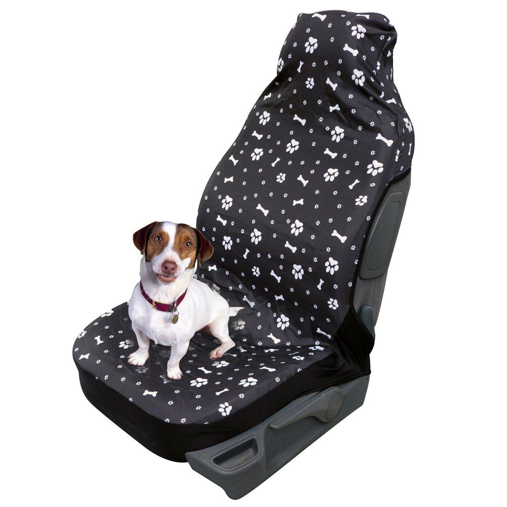 Housse de protection pour siège avant auto express universelle pour chien haute qualité polyester QUATTRO DIFFUSION