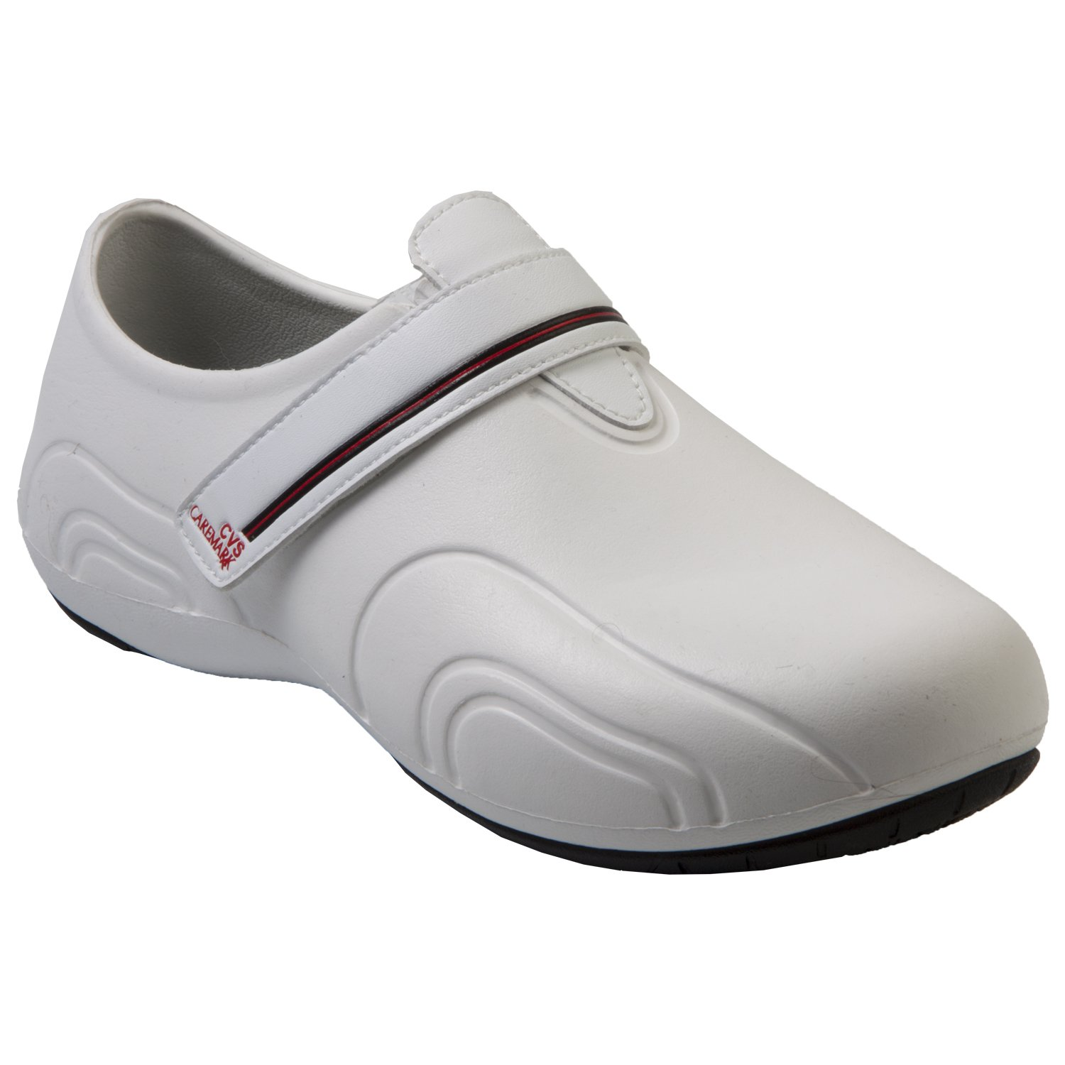 DAWGS Red Label Women's Ultralite Tracker Work Shoes B01BN12JQ2 9 B(M) US|White With Black