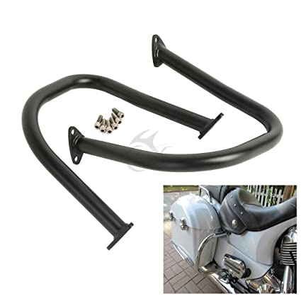 Amazon.com: XFMT Highway Engine Guard Crash Bar Kit For Indian Scout ...