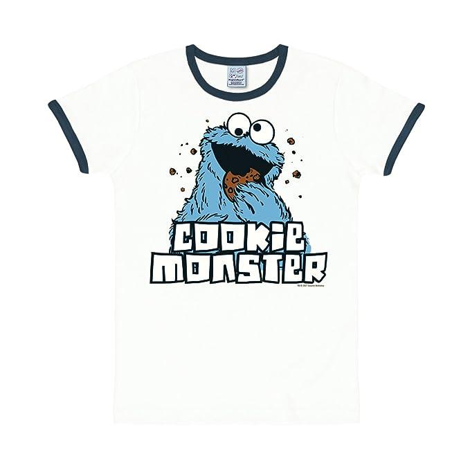 0eb27f7b5840 Logoshirt Krümelmonster T-Shirt - Sesamstrasse T-Shirt - Cookie Monster  Shirt Original -