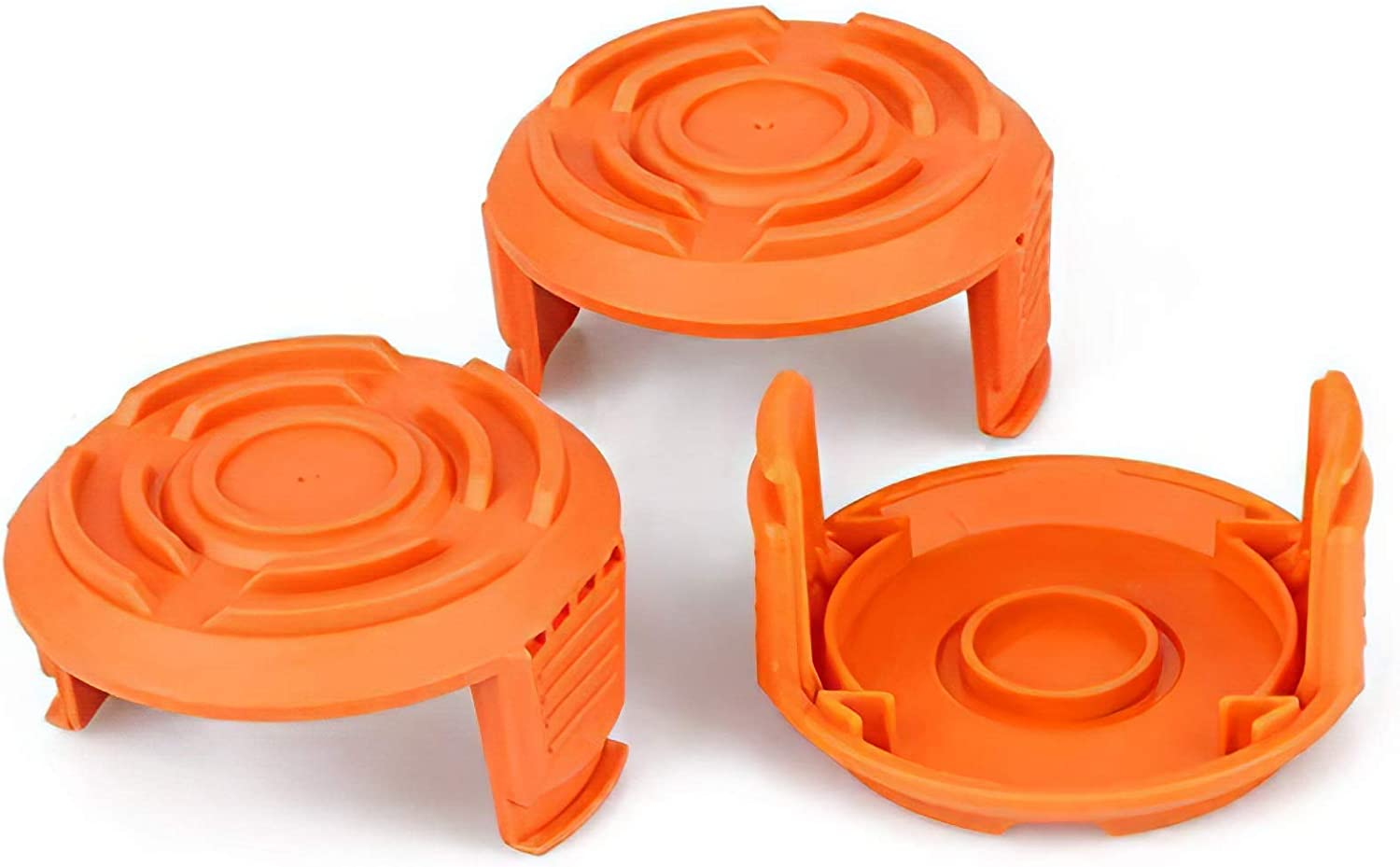 YWTESCH Trimmer Replacement Spool Cap Covers for Worx (3 Pack) : Garden & Outdoor