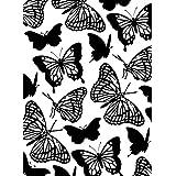 Darice Embossing Folder, 4.25 by 5.75-Inch, Butterflies