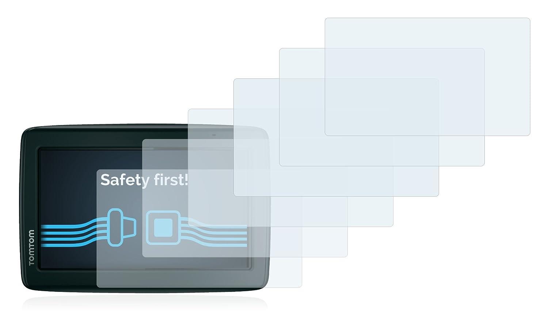 6 Pezzi Savvies Pellicola Protettiva Compatibile con Tomtom Start 25 M Central Europe Traffic Protezione Schermo
