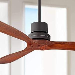 """52"""" Casa Delta-Wing Bronze Outdoor Ceiling Fan"""