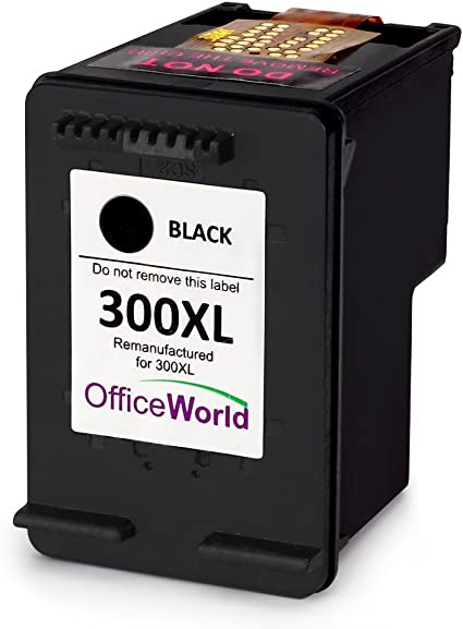 OfficeWorld 300XL Negro Cartucho de Tinta para HP Deskjet F4580 ...