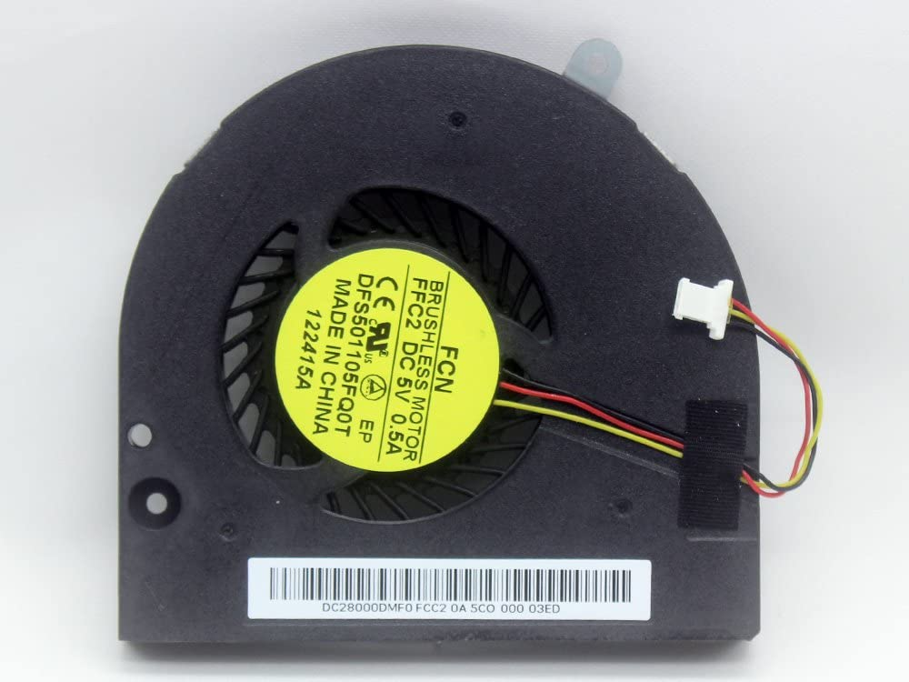 iiFix New Replacement CPU Cooling Fan For Acer Aspire E1-532 E1-572 V5-561 TravelMate P255 P455 23.MEPN2.001 23.M8EN2.001 DFS501105FQ0T DC28000DMF0