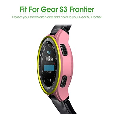 Amazon.com: AWINNER Case for Gear S3 Frontier SM-R760, Shock-proof and Shatter-resistant Protective Band Cover Case for Samsung Gear S3 Frontier SM-R760 ...