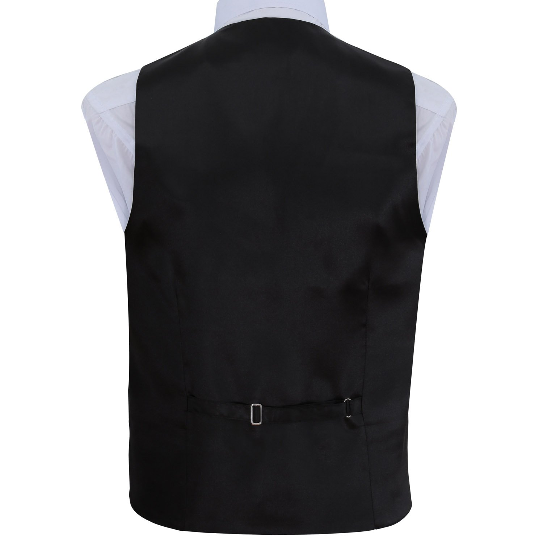 New Men/'s formal Slim Fit Tuxedo vest Waistcoat/_bow tie /& hankie royal blue