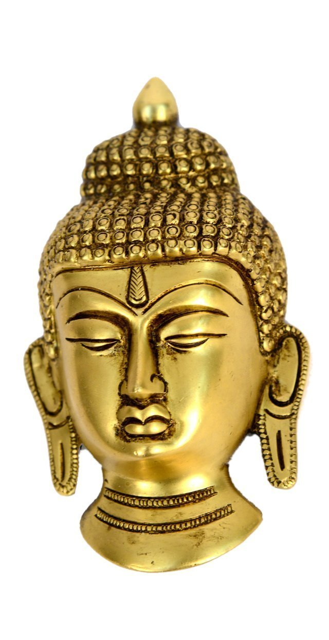 Exotic India Buddha Head Wall Hanging by Exotic India