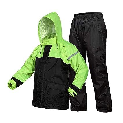 Amazon.com: LYP-Rainwear - Lote de chubasquero y pantalón ...