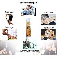Crema analgésica china Shaolin analgésico para aliviar el dolor para la artritis reumatoide/dolor en las articulaciones bálsamo analgésico masaje y relajación