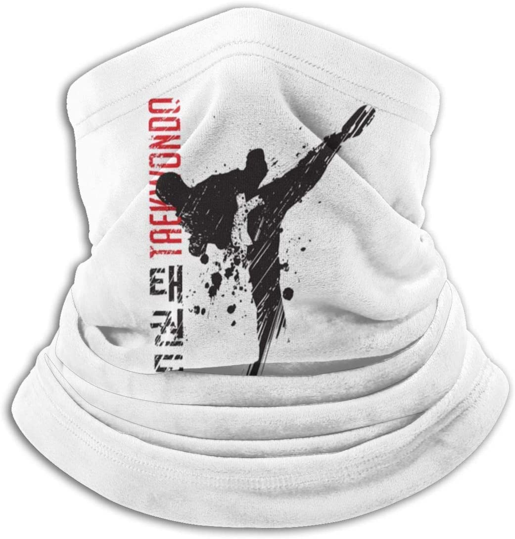 qulia M/änner Frauen Taekwondo Arts Neck Gamasche W/ärmer Magic Ski Tube Schal f/ür Head Wrap