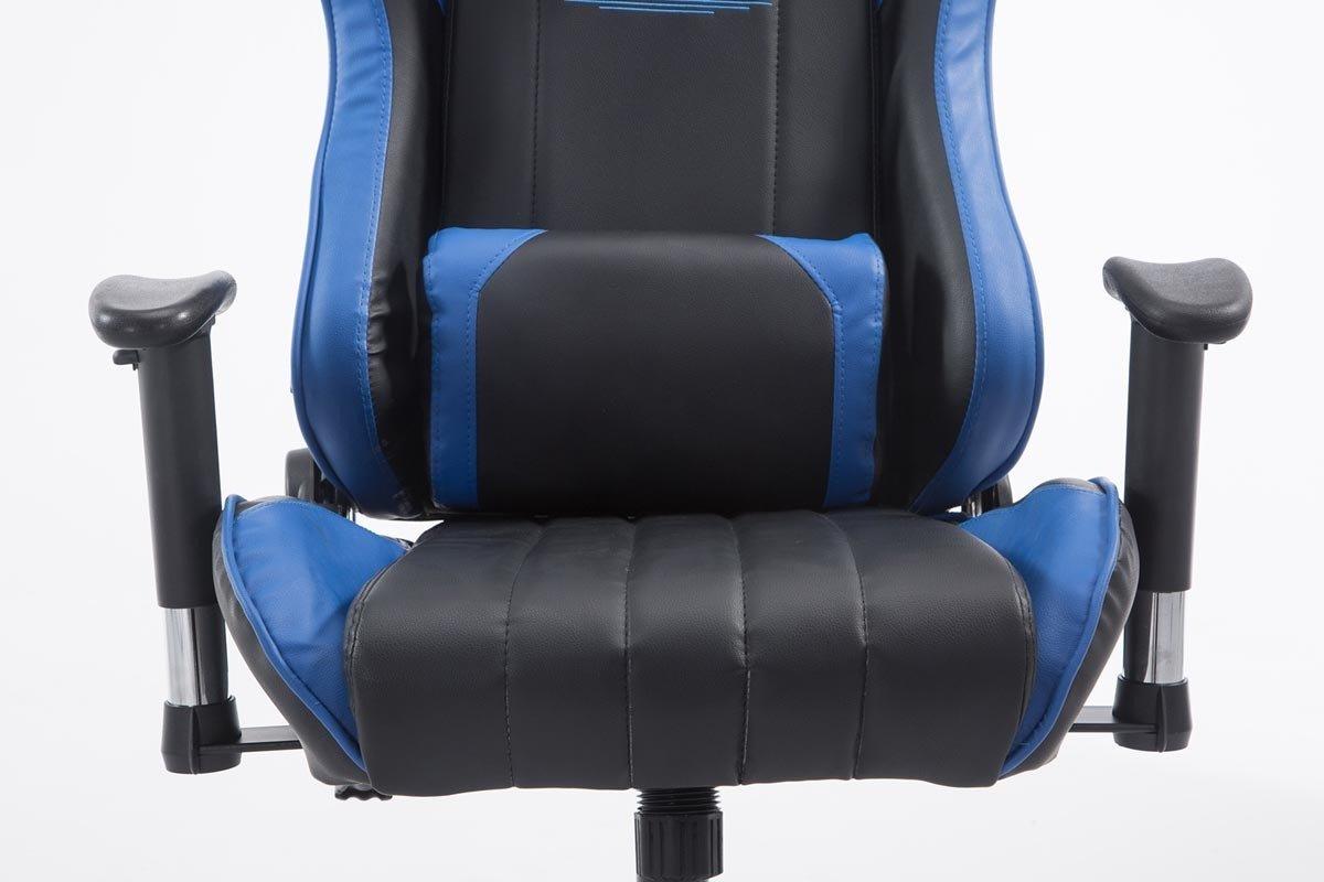 CLP Silla de oficina SHIFT V2 XL Tarmac Racer La silla gaming Shift XL tiene tapizado de cuero sintético y soporta un peso máximo de 150 kg.