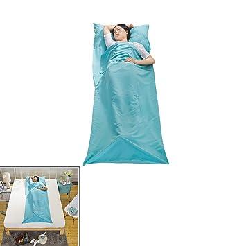 Saco de Dormir Portátil Bolsa de Viaje Camping Impermeable Funda de Separación de Sucio para Mochilero