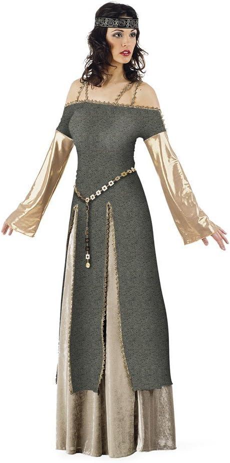 Limit Sport - Disfraz medieval de Lady Ginebra para adultos, talla ...