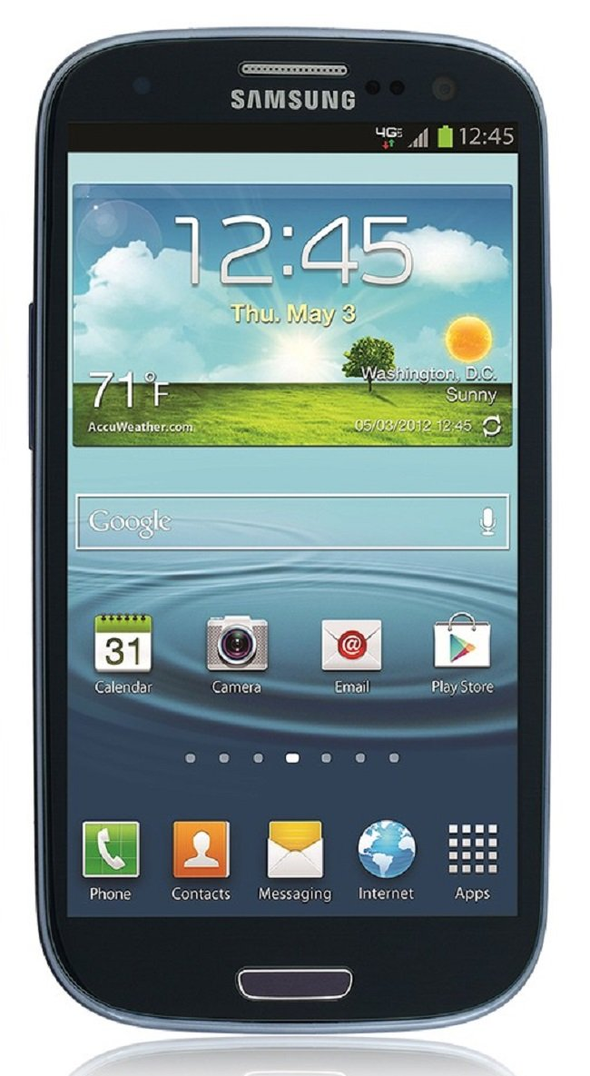 Samsung Galaxy S3 I535 16GB Verizon Wireless 4G LTE Smartphone - Blue