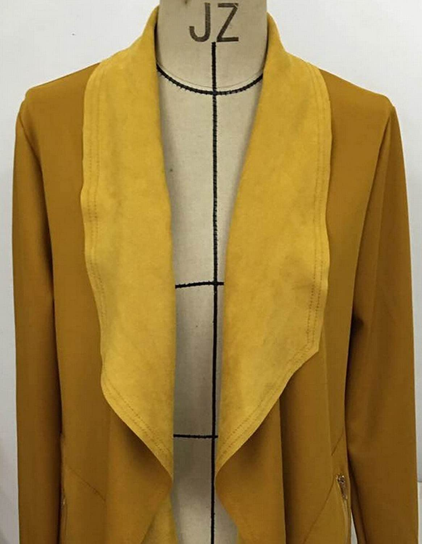 Alion Women's Winter Casual Wool Peas Cardigan Sweater Coat