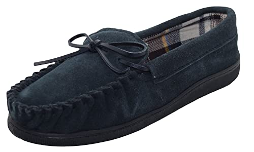 Jo&Joe Hombres NewEngland Slippers Navy 7 UK / 41 EU