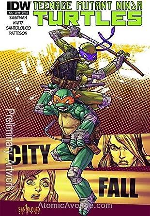 Amazon.com: Teenage Mutant Ninja Turtles (5th Series) #26A ...