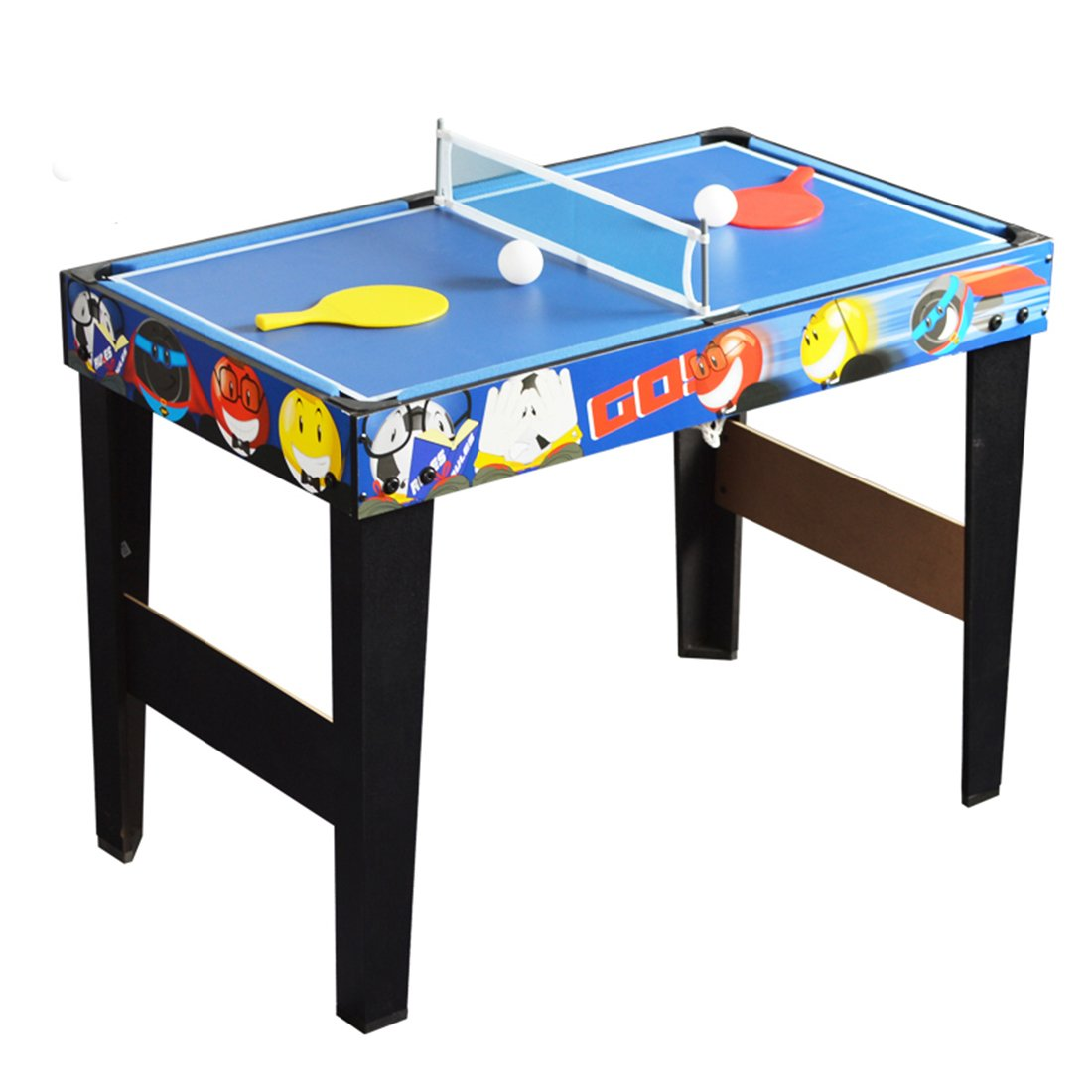 Superbe Amazon.com : Deluxe 48in/4Ft 4 In 1 Top Game Table Multi Function Steady Combo  Table Tennis (Ping Pong ), Glide Hockey, Soccer Foosball, Pool Set For Kids  ...