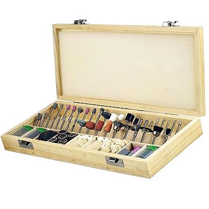 Rotary tool accessories kit,Eagles 228pcs dremmel tool kit for  sanding/polishing/cutting /carving wood,stone, jewelry, glass, stone,  ceramic