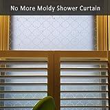 Mikomer Non Adhesive Privacy Window Film, Static