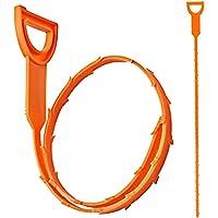 MMIAOO 2 STKS Drain UnBlocker Tool,Hair Remover Cleaner, Klomp Reiniging Gereedschap - Plug Hole Cleaner Stick, voor…