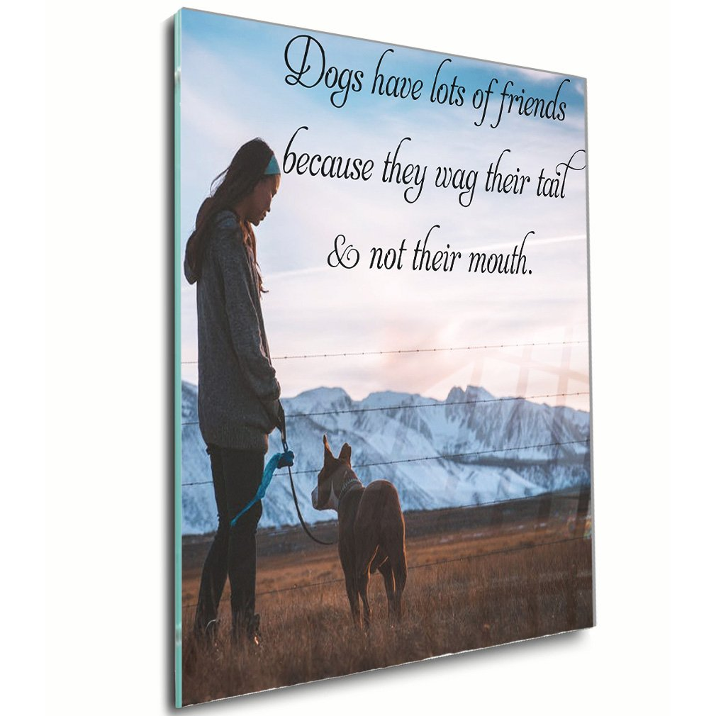 Amazon.com: Style in Print Dogs Have Lots Of Friends, As They Wag ...