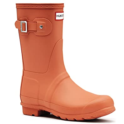 Womens Hunter Original Short Galoshes Wellingtons Waterproof Rain Boots