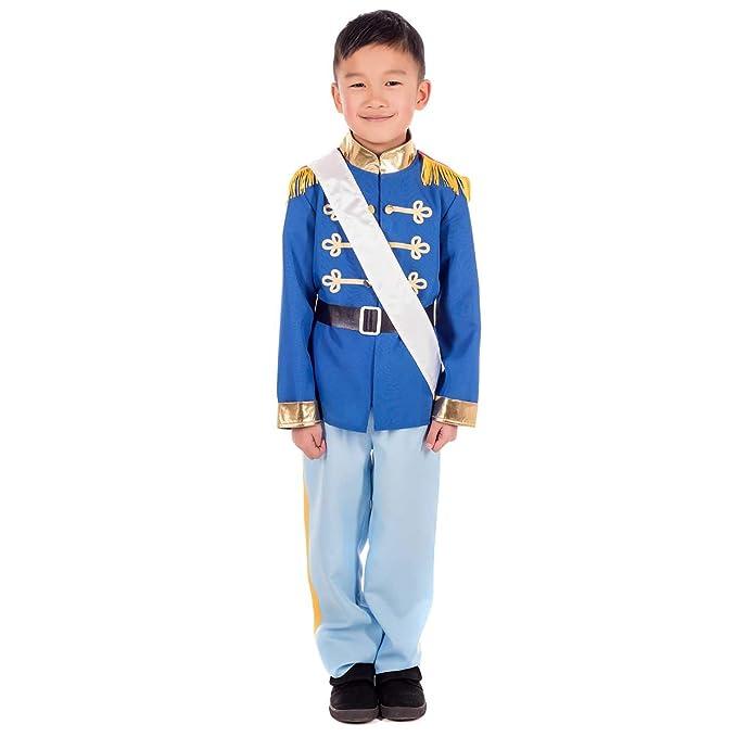 Amazon.com: Disfraz de príncipe para niños, disfraz de héroe ...