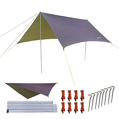 New UV Sun Cover Protector To Cover Your Mexican Camping Hammock Rain Drain