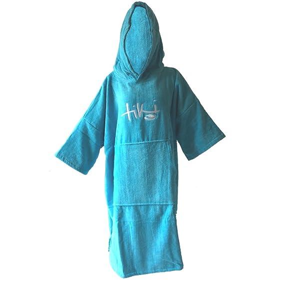b6207fbede Tiki Velour Deluxe Beach Changing Robe (Petrol Blue)  Amazon.co.uk  Sports    Outdoors