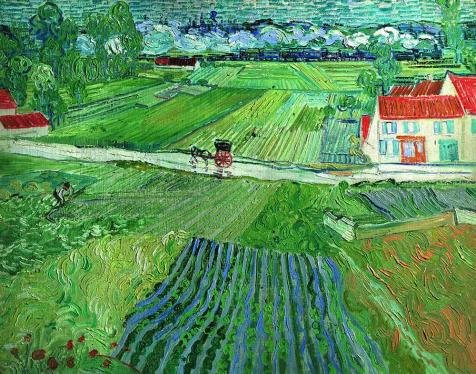 Oil Painting 'Vincent Van Gogh-Landscape At Auvers After The Rain,1890' Printing On Perfect Effect Canvas , 20x25 Inch / 51x65 Cm ,the Best Home Office Decor And Home Gallery Art And Gifts Is This High Definition Art Decorative Prints On Canvas