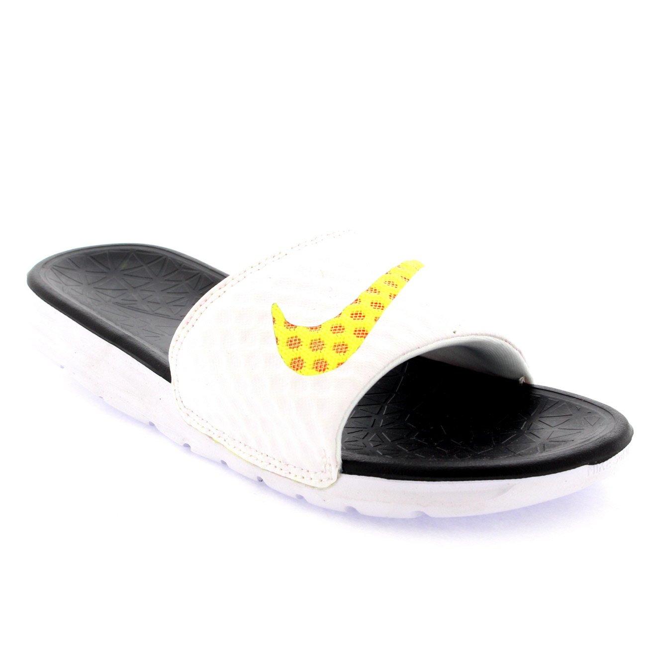 best loved aff58 8c520 Nike Unisex Adults Benassi Solarsoft Slide 2 Sliders Beach Sandals -  White Black - 10  Amazon.co.uk  Shoes   Bags