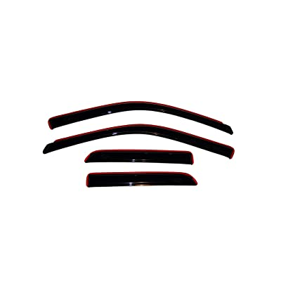Auto Ventshade 194101 In-Channel Ventvisor Side Window Deflector, 4-Piece Set for 2009-2020 Dodge Ram 1500; 2020 Ram 1500 Classic | Fits Extended Cab Pickup: Automotive