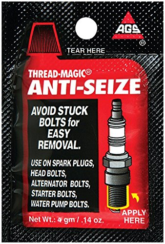 100 Pack American Grease Stick TMP-1 Thread Magic Anti Seize 4 gram Single Use Packet by American Grease Stick