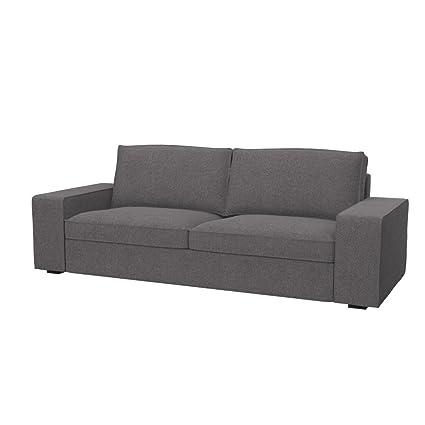 Divano Kivik 3 Posti Ikea.Soferia Ikea Kivik Fodera Per Divano A 3 Posti Glam Grey Amazon